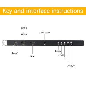 Image 3 - 17.3 inç Oyun Taşınabilir Ekran 1920x1080 HDR IPS 144Hz NTSC 72% Ekran için C Tipi Ps4 Xbox NS Anahtarı USB Monitör