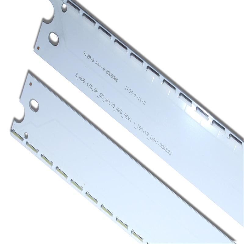 3-Новинка; 10 шт. 66 светодиодный 600 мм светодиодный подсветка полосы для samsung UE55MU6400UXZT S_KU6.4/6.5K _ 55_SFL70_R66 L66 LM41-00462A LM41-00459A смотреть на Алиэкспресс Иркутск в рублях
