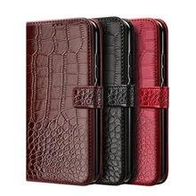 Capinhas de telefone para xiaomi redmi 4x caso textura de crocodilo capa de couro para xiomi redmi 4x redmi4x caso hongmi 4x coque