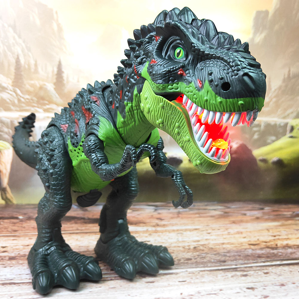 Tyrannosaurus Rex Model  Remote Control Dinosaur Toys Spray Laying Eggs Animal Action Figure Toy For Boy Kids Gift 2019 New