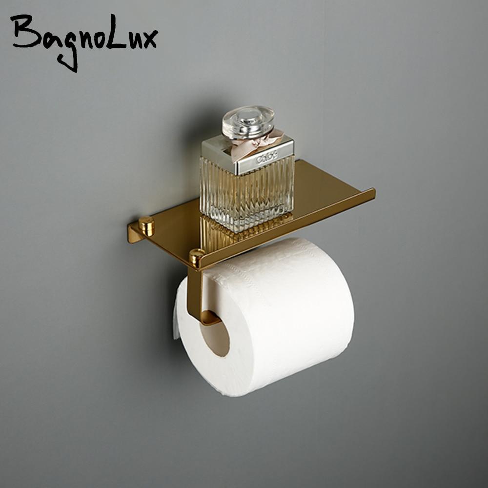 5 Year Warranty High Quality Wholesale Promotion Premium Matte Black Bath Tissue Hook Brass Bathroom Rolling Paper Holder