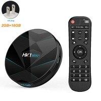 HK1 MINI Plus Stable Media Digital High Definition With Remote Control TV Box 4K BT Quad Core USB Network Dual WiFi Smart