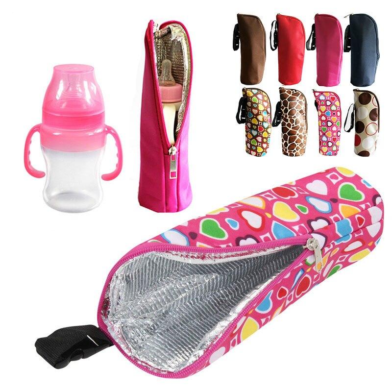 Сумка-грелка для бутылочек с молоком для кормления ребенка, подвесная грелка для коляски, Сумка с теплоизоляцией для бутылки с молоком
