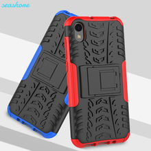 купить Case For  Huawei Honor 8S Case Cover 5.71 Silicone Soft TPU + PC Heavy Duty Armor Back For Honor 8S 8 S KSE-LX9 KSE LX9 Coque дешево