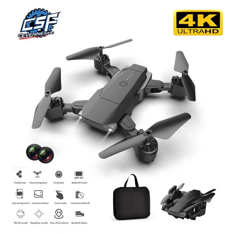 2020 NEUE K2 RC Drone 4K Dual Kamera Fest-höhe Quadcopter Lange ausdauer Folding Drone 1080P wiFi Fernbedienung Flugzeug Eders