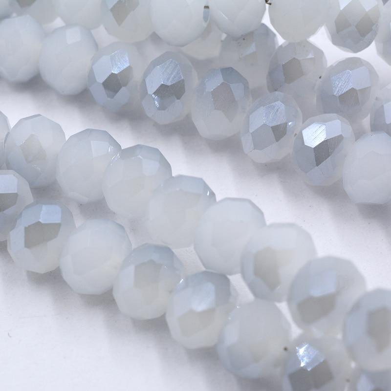 4 мм 140 шт./лот бусины из кристаллов, граненые круглые стеклянные бусины - Цвет: 139