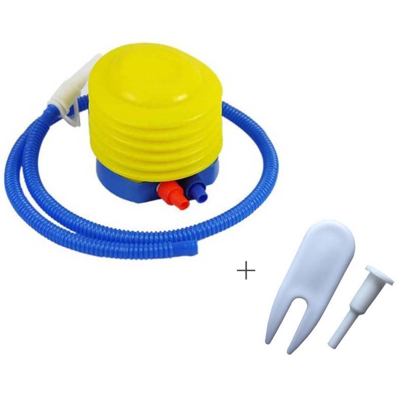 Portable Yoga Ball Foot Air Pump Inflator Pilates Gym Fitness Ball Gas Extraction Air Plug Party Wedding Balloon Inflator