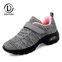 2021 nova tenis feminino sapatos de tênis feminino ginásio sapatos esportivos confortáveis formadores plataforma cunha tênis aumentar a altura