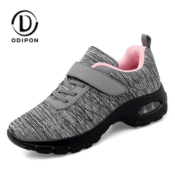 Women Tennis Shoes 2021 New Tenis Feminino Women's Gym Sports Shoes Comfortable Trainers Platform Wedge Sneakers Increase Height