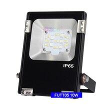 Miboxer AC100~240V 10W RGB+CCT LED Flood light FUTT05 Waterproof IP65  Outdoor lamp For Garden building Grassland lighting