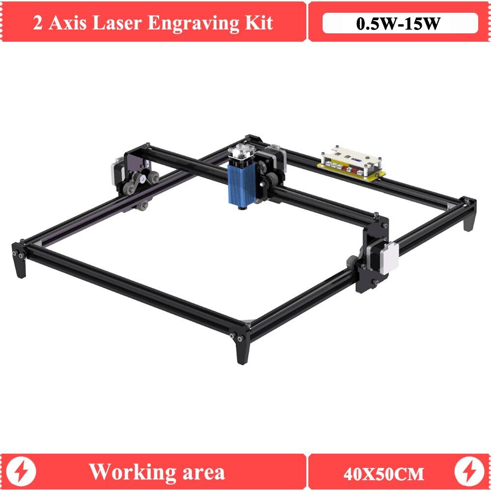 DIY Laser 4050 Engraver Mini CNC Laser Engraving Machine With 500mW 2500mW 5500mW 15W  Lazer Cube