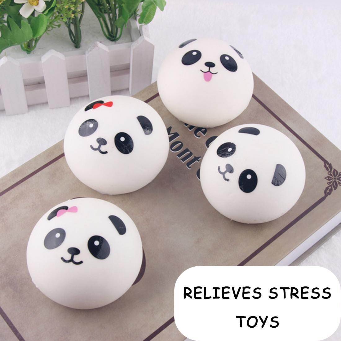 10/7/4cm Squishy Toy Soft Slow Rising Jumbo Panda Face Bread Squeeze Kid Fun Hobby Stress Reliever Deco r Phone Strap Gift HOt