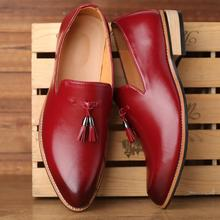 Men Pu Leather Shoes Casual Shoes Dress Shoes Brogue Shoes Spring Ankle Boots Vintage Classic Male Casual F423 bf423 f423 page 3