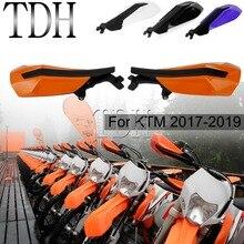 Motocross Enduro MX Handguard for 2017 2018 2019 KTM XC-W EXC-F XC XCF XCW EXC 150 250 300 350 450 500 TPI Six Days Hand Guard цены онлайн