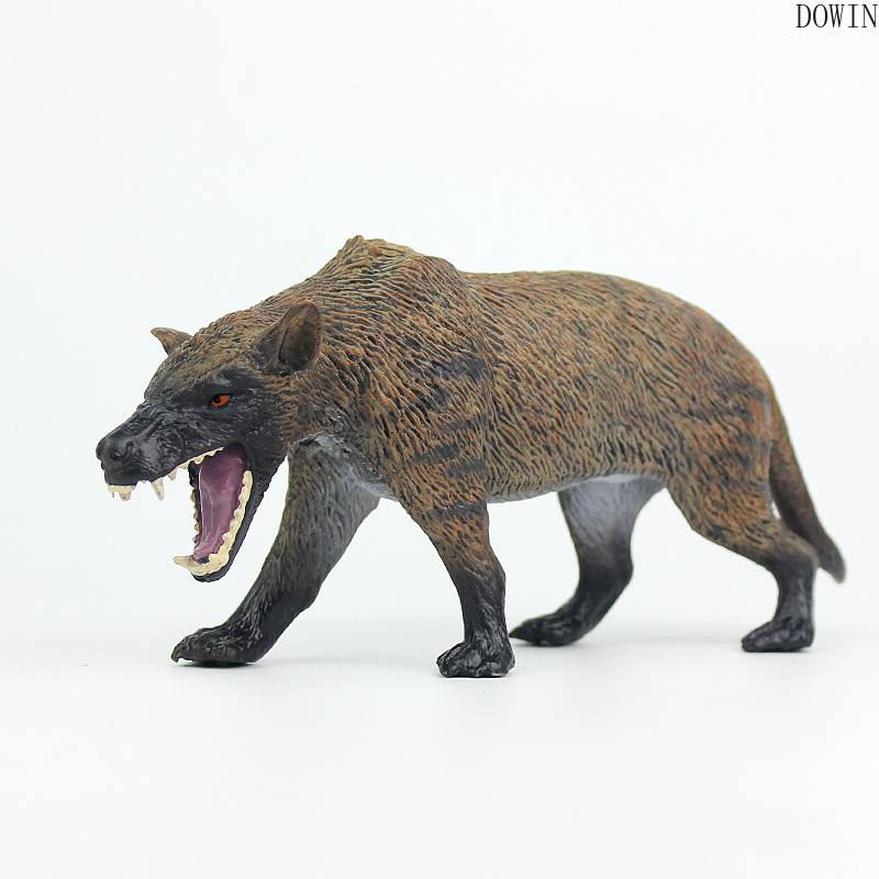 Action Figures Wolf Wolves-Beast Animal Model Canis-Dirus Kids Gift