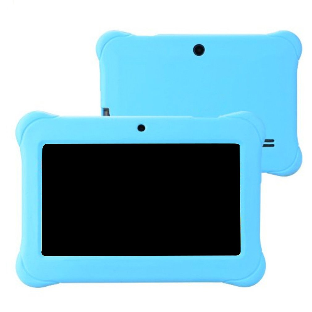 512M+8G Kids Silicone Cover Protective Case Anti Dust Silicone Rubber Gel Case Cover For Q88 7 Inch Android Tablet PC