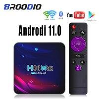 2021 neue H96Max Smart TV Box Android 11 H96Max 32GB 64GB Dual Wifi 2,4G/5G bluetooth 4,0 Youtube Google Media Player Set-Top-BOX