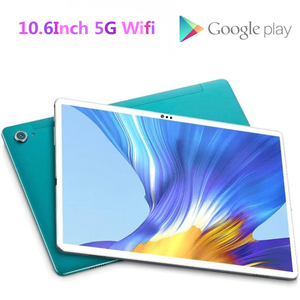 New 10.6 Inch phablet Tablet PC 10 Deco Core 4GB RAM 128GB ROM 4G LTE Phone Call 13MP Camera 2.4G + 5g wifi tablet Android 8.0