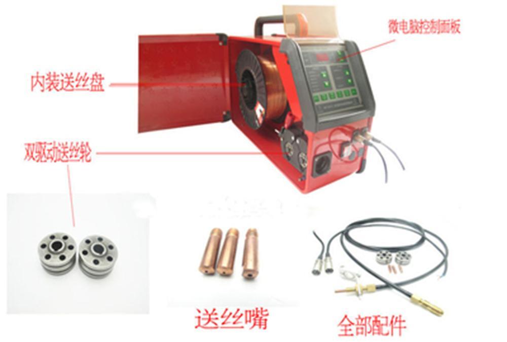 Digital de Machine d'alimentation de conducteur de fil froid de Tig commandé pour la soudure de Tig d'impulsion 110v 220v qualité supérieure