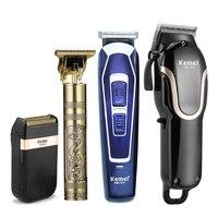 Haar Clipper Professionelle Trimmer für Männer Wiederaufladbare T-outliner Elektrische Rasieren Maschine Haarschnitt Bart Rasierer Pflege Barber