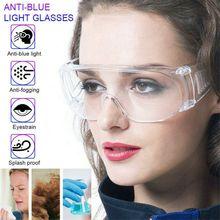 Safety Lab Glasses Accessory Anti Fog Dust Splash-proof Glasses Clear Lens Work Eye Protection Fully Sealed splash proof Goggle
