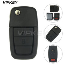 Чехол для автомобильного дистанционного ключа с 2 кнопками и