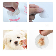 Wet-Tissue Dog Cat Pet's Tear-Mark Taidibleu-Eye-Cleaning Special Custom-Made 100-Pieces.