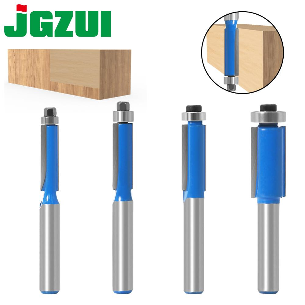 8mm Shank Flush Trim Router Bit with Bearing for Wood Template Milling Cutter