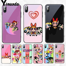 Yinuoda The Powerpuff Girls Top Detailed Popular Cell Phone Case Cover for Apple iPhone 8 7 6 6S Plus X XS MAX XR Cellphones(China)