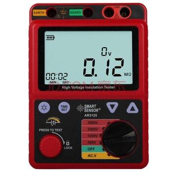 High voltage insulation tester/High Voltage Insulation Tester meter /resistance tester Smart Sensor Meter AR3125