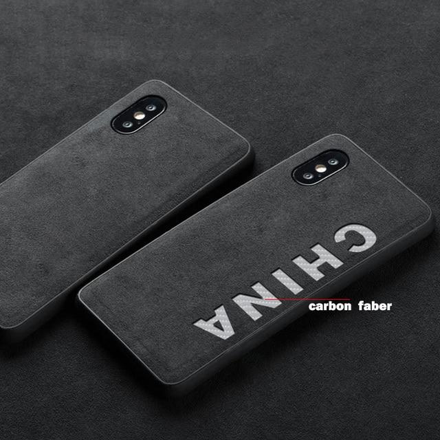 Luxury Slim Leather Carbon Fiber Cover Phone Case For Apple iPhone X Xr XS MAX case iphone 11 Pro Max 7 8 Plus phone case Luxury