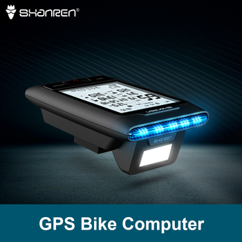 SHANREN DI-PRO GPS Bike Computer 96-Hour Cycling GPS Bicycle Computer with Headlight igs50e 40 hours long battery life gps sport bike gps bicycle gps bike computer workable with speed cadence heart rate