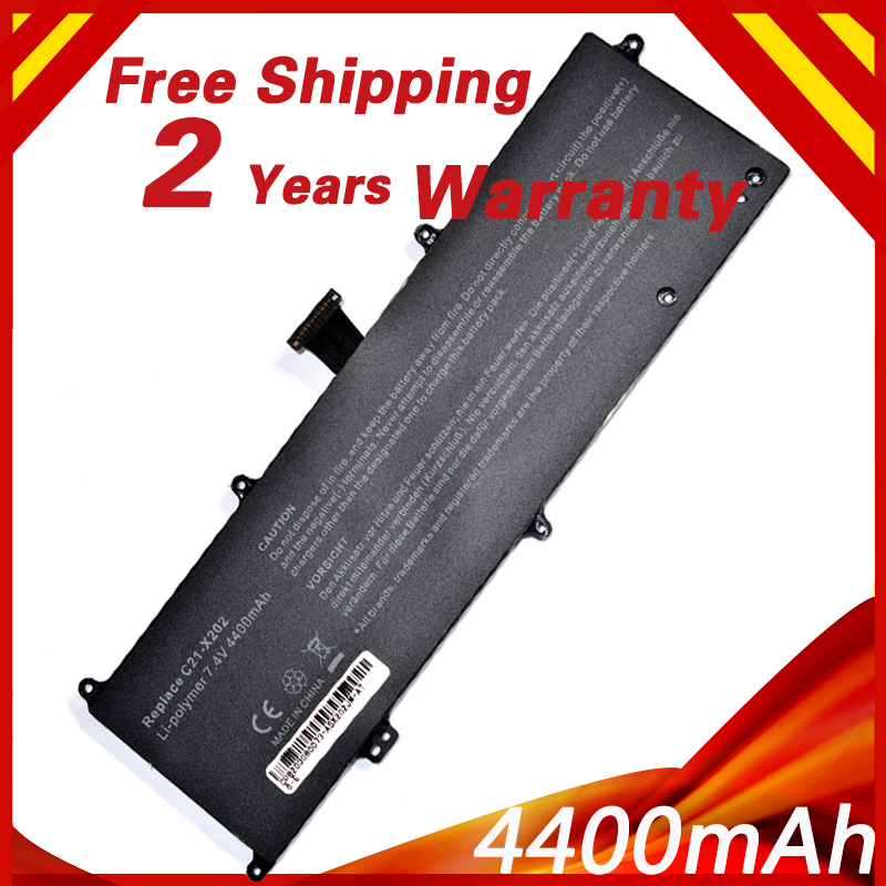 Golooloo C21-X202 Laptop Battery For ASUS VivoBook S200 S200E X201 X201E X202 X202E S200E-CT209H S200E-CT182H S200E-CT1  7.4V