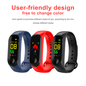 Image 5 - M4 Smart Wristband Fitness Tracker Watch Sport bracelet Heart Rate Blood Pressure Monitor Health Watch Smartband For Android iOS