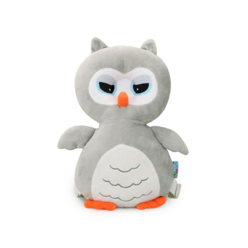 Cute Owl Baby Pillows Head Cartoon Safety Pad Cushion For Baby Walkers Protective Prevent Shatter-resistant Pillow Head Injured