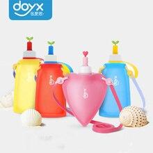 Силиконовая Детская сумка для воды, водная напольная чашка, Спортивная складная сумка для воды, силиконовый чайник, выдвижная Спортивная бутылка