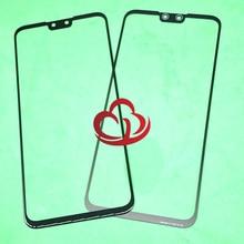 10Pcs Ersatz LCD Vordere Touchscreen Glas Äußere Linse Für Huawei Y9 2019 Genießen 9 Plus JKM LX1 JKM LX2 JKM LX3 JKM AL00