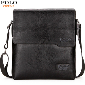 Image 1 - VICUNA POLO Men Shoulder Bag Classic Brand Men Bag Vintage Style Casual Men Messenger Bags Promotion Crossbody Bag Male Hot Sell