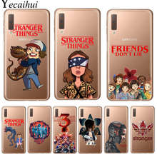 Stranger Things Season 3 Phone Case untuk Samsung J3 J5 J7 2016 2017 J4 J6 Plus 2018 Catatan 10 Pro lembut Silicone Back Cover Coque(China)