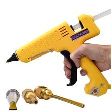 250W Specialty Solizer Adjustable heating temperature Glue Tool Kit With 11MM Hot Melt Glue Sticks 1 Copper Nozzle Glue - Gun