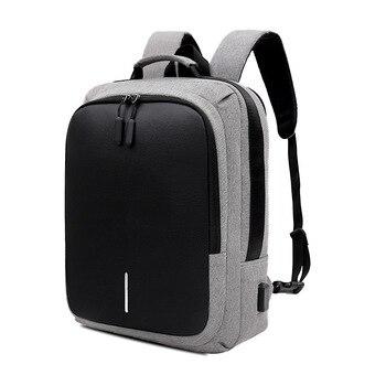 New 15.6 Inch Laptop Usb Backpack School Bags For Teenage Girls Boys Anti Theft College Bookbag Travel Daypacks Male Mochila - discount item  30% OFF Backpacks