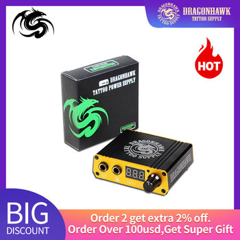 Professional Tattoo Power Supply Digital Dual LCD Display Tattoo Power Supply For Tattoo Machines beauyt7 tattoo machines footswitch foot pedal controller tattoo power supply for tattoo switch controller tattoo power supply