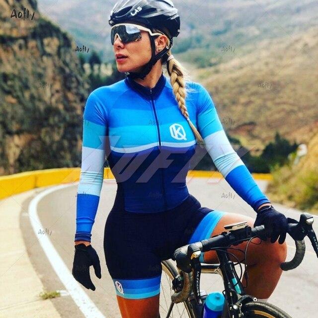 2020 da profissão feminina terno triathlon roupas ciclismo skinsuits meninas macaquinho ciclismo feminino macacão triatlon verão macaquinho ciclismo feminino manga longa roupas com frete gratis macacao ciclismo feminin 5