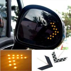 2pcs /set Car Light Rearview Mirror Indicator Light Turn Signal Lamp DC 12 V 14 SMD 6000K-8000K 1.92W Led Tube Auto Product