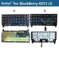 Teclado para blackberry keytwo le key2 le teclado botão com cabo flexível para blackberry key2 le telefone peças de reposição teste topo