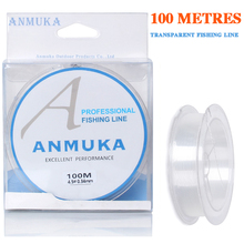 Nylon line100% Fluorocarbon Coating Fishing Line 100M Monofilament Leader Sinking Carp line