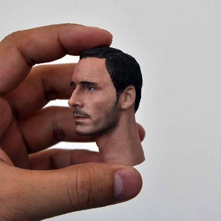 1//6 Scale Michael Fassbender Head Sculpt Fit 12/'/' Male Action Figure Body Toys