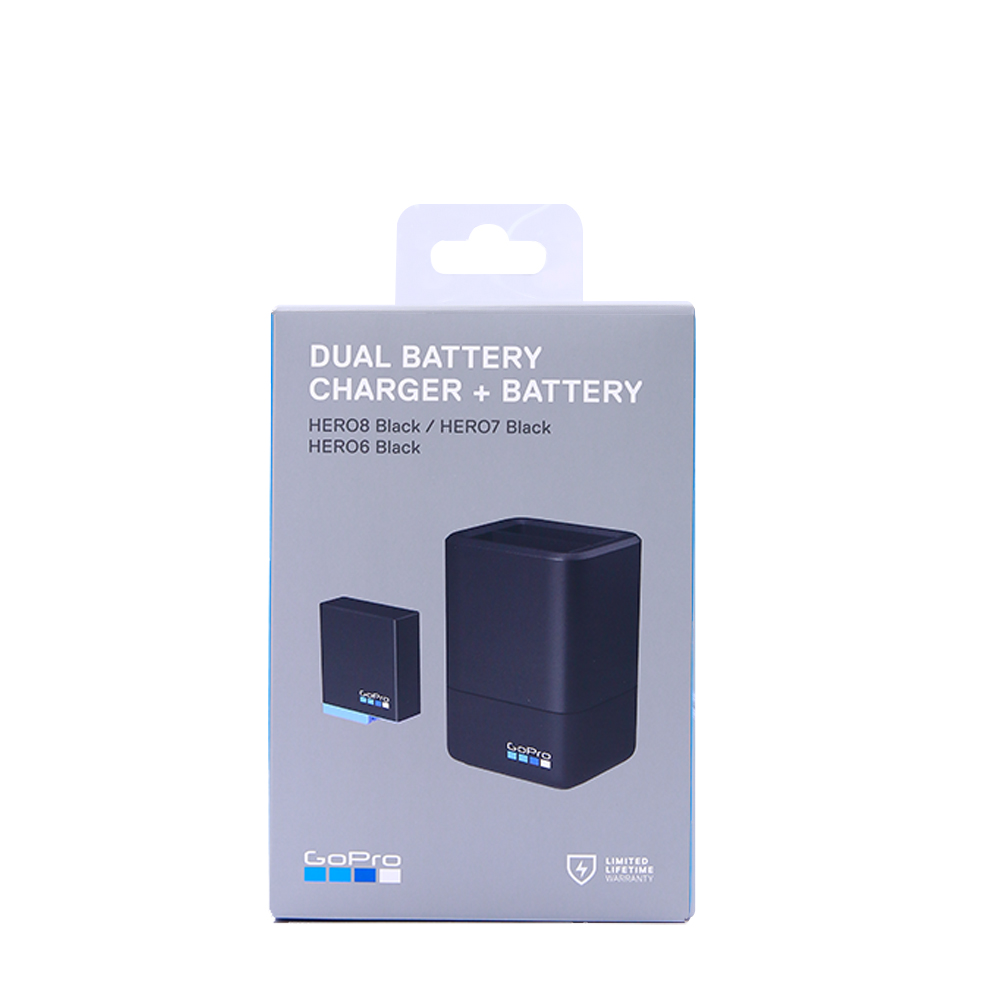 Gopro Dual Battery Charger + Battery AADBD-001 for HERO7 / HERO6 Black / HERO5 Black (Official Accessory) 2
