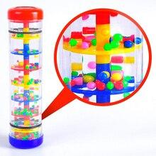 Музыкальные игрушки 1/2/3 дюймов дети Rainmaker трубки палкой музыкальный ударный инструмент Обучающие Игрушки для раннего развития детей