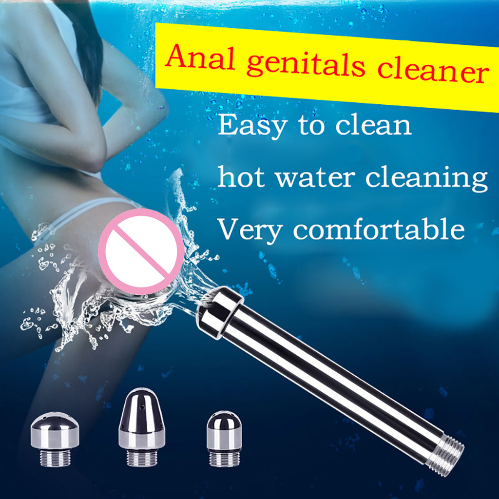 Wonderful Anus Vaginal Douche Spray <font><b>Anal</b></font> Cleaning Large Enema Syringe <font><b>Sex</b></font> <font><b>Toy</b></font> M1203 image
